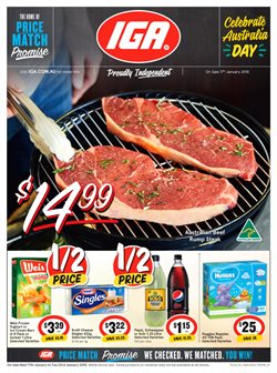 Offers from IGA in the Toowoomba QLD catalogue