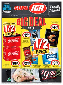 Grocery offers in the IGA catalogue in Kingaroy QLD
