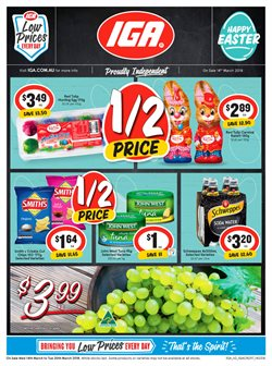 Grocery offers in the IGA catalogue in Dorrigo NSW