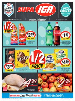 Grocery offers in the IGA catalogue in Sydney NSW