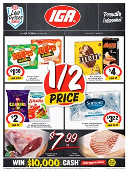 Offers from IGA in the Brisbane QLD catalogue