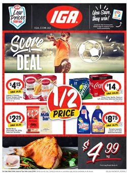 Grocery offers in the IGA catalogue in Baldivis WA