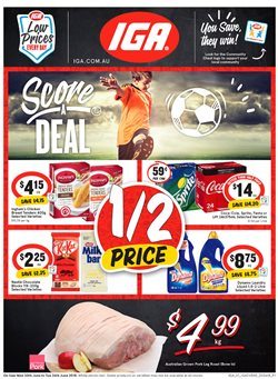 Offers from IGA in the Bendigo VIC catalogue
