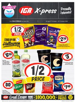 Grocery offers in the IGA catalogue in Bairnsdale VIC