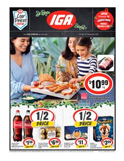 Grocery offers in the IGA catalogue in Dubbo NSW