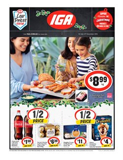 Offers from IGA in the Sandstone Point QLD catalogue