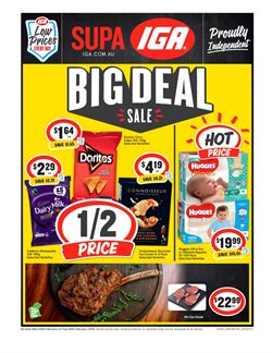 Supermarkets offers in the IGA catalogue in Baldivis WA