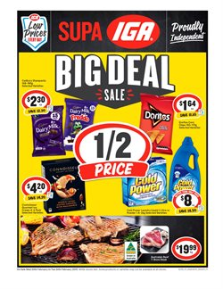 Supermarkets offers in the IGA catalogue in Bairnsdale VIC