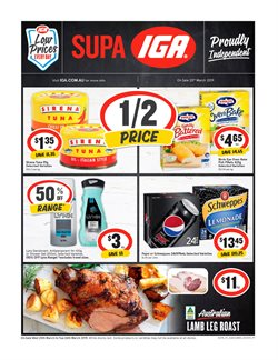 Offers from IGA in the Gold Coast QLD catalogue