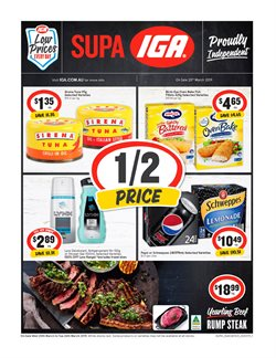 Offers from IGA in the Perth WA catalogue