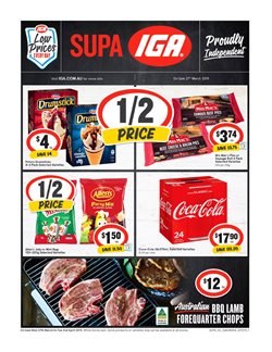 Offers from IGA in the Sydney NSW catalogue