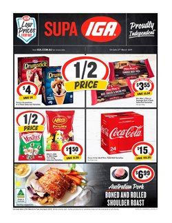 Offers from IGA in the Melbourne VIC catalogue
