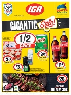 Offers from IGA in the Belconnen ACT catalogue