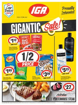 Offers from IGA in the Dorrigo NSW catalogue