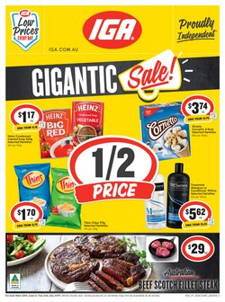 Supermarkets offers in the IGA catalogue in Adelaide SA