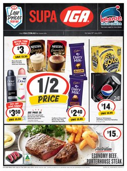 Supermarkets offers in the IGA catalogue in Newcastle NSW