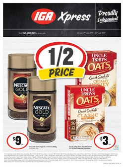 Supermarkets offers in the IGA catalogue in Salamander Bay NSW