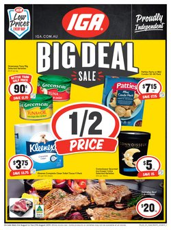 Supermarkets offers in the IGA catalogue in Canberra ACT
