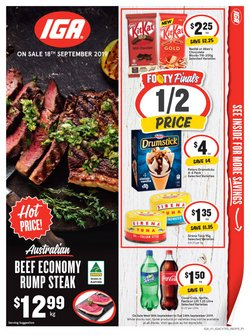 Offers from IGA in the Glen Eira VIC catalogue