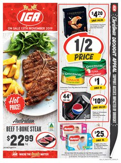 Supermarkets offers in the IGA catalogue in Traralgon VIC