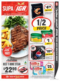 Supermarkets offers in the IGA catalogue in Wonthaggi VIC
