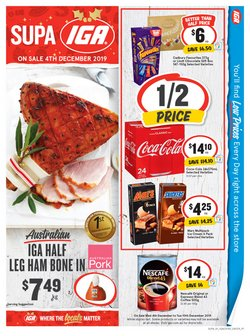 Offers from IGA in the Frankston VIC catalogue