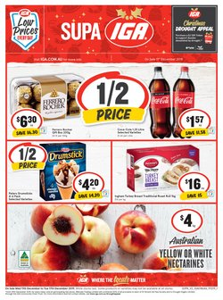 Supermarkets offers in the IGA catalogue in Yass NSW