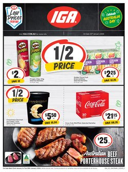 Supermarkets offers in the IGA catalogue in Sydney NSW
