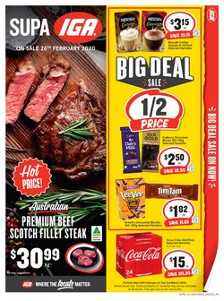 Supermarkets offers in the IGA catalogue in Melbourne VIC ( 1 day ago )
