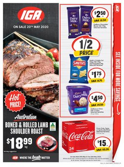 Supermarkets offers in the IGA catalogue in Wonthaggi VIC ( Expires today )