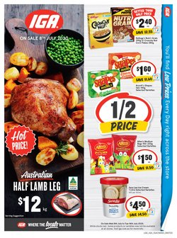 Supermarkets offers in the IGA catalogue in Perth WA ( 1 day ago )