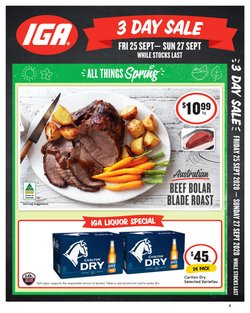 Supermarkets offers in the IGA catalogue in Wallan VIC ( 2 days left )