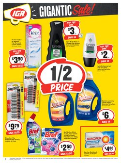 Offers of Sales in IGA