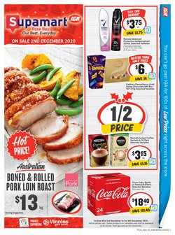 Supermarkets offers in the IGA catalogue ( Published today )