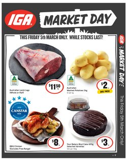Supermarkets offers in the IGA catalogue in Sydney NSW ( Expires today )