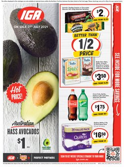 Supermarkets specials in the IGA catalogue ( 3 days left)