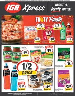 Supermarkets specials in the IGA catalogue ( 2 days left)