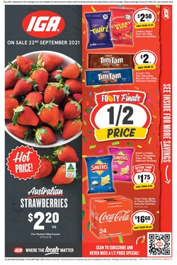 Supermarkets specials in the IGA catalogue ( 1 day ago)