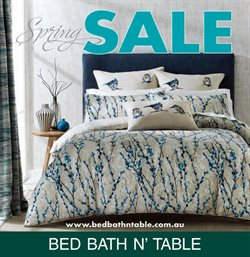 DFO Homebush offers in the Bed Bath N' Table catalogue in Sydney NSW