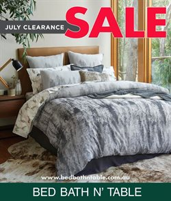 Offers from Bed Bath N' Table in the Mandurah WA catalogue