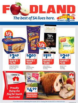 Grocery offers in the Foodland catalogue in Sydney NSW