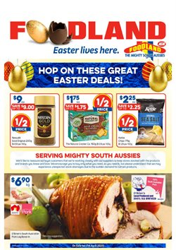 Foodland catalogue in Sydney NSW ( Expires tomorrow )