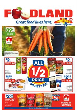 Foodland catalogue ( 2 days left )