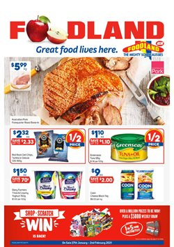 Foodland catalogue ( 2 days ago )
