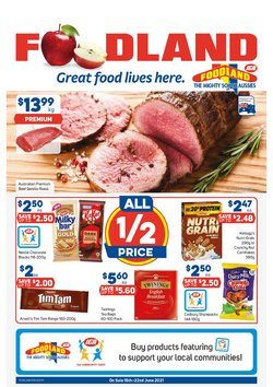 Foodland specials in the Foodland catalogue ( 1 day ago)