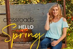 Clothing, Shoes & Accessories offers in the Crossroads catalogue in Kingaroy QLD