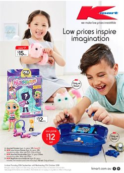 Department Stores offers in the Kmart catalogue in Mandurah WA