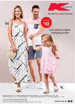 Offers from Kmart in the Canberra ACT catalogue