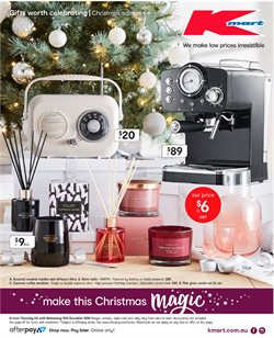 Department Stores offers in the Kmart catalogue in Sandstone Point QLD