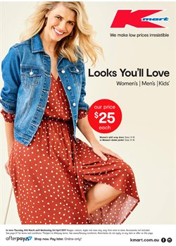 Department Stores offers in the Kmart catalogue in Baldivis WA